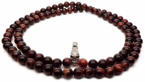 red tiger eye death collar