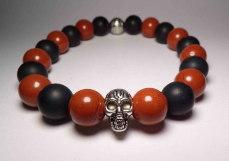 The red jasper death bracelet