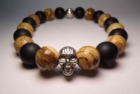 light jasper death bracelet