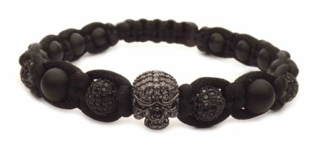 black death head bracelet