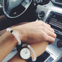 Magnetic bracelets for couples