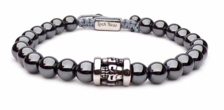 shamballa bracelet hematite head of death