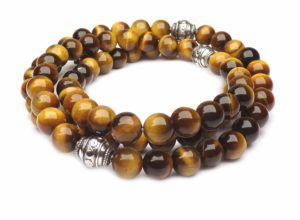 tiger eye stone lucky necklace