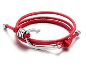 red leather strap for men