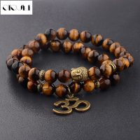 OIQUEI Men's Fashion Bracelets Beads It Of Tiger Buddha Jewelry Gift New Collection