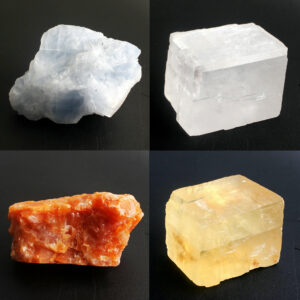 cristal naturel blanc ou Orange ou bleu, Calcite, Reiki guérison, Collection de minéraux brut