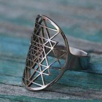sri yantra ring available colors decf