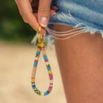boho keychain avec keyring handmade surfer lanyard hippie pocket pendant friendship proof gift girlfriend g daa