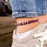 boho surfer ankle band womens anklet ankle bracelet handmade festival beach jewelry summer accessories friendship ribbons wr dceeee