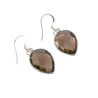 ffedfc smoked quartz vision earrings