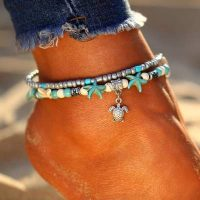efb paradise beach ankle chain