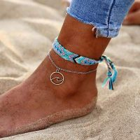 brazilian wave ankle chain styles available eb