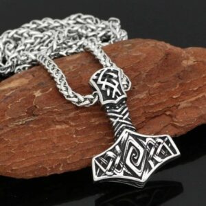 thor's hammer necklace fbeb