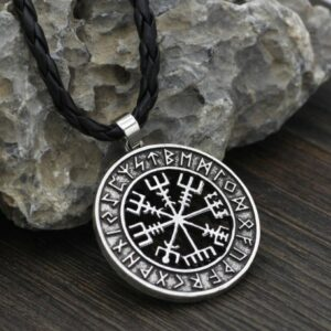 collier vegvisir viking fa