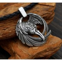 collier viking corbeau fb