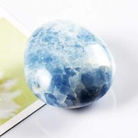blue calcite pebble stone of happy families dea