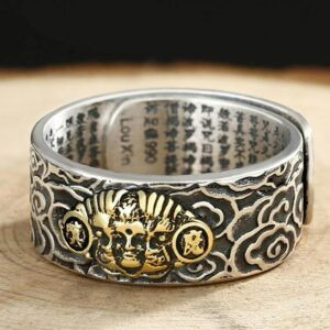 Lucky fengshui ring for men, amulet, lucky charm