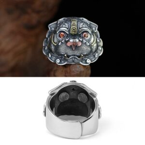 Chinese Feng Shui Gluttonous Beast Animal Ring