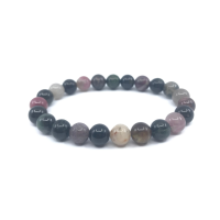 "Inexpensive this ""Beauty of the Soul"" bracelet in multicolored tourmaline. trend 2021"