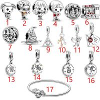 16 Styles 2020 Genuine hot 925 Sterling Silver Charm Beads Fit original Pandora Charms Bracelet Silver Jewelry Making DIY Gift