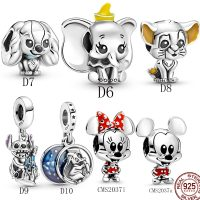 2021 new SPECIAL OFFER 100% 925 Sterling Silver Desny Mini Charms Fit Original Pandora Bracelet For Women Jewelry Gift