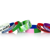 Personalized, Eco-Friendly Embossed Silicone Bracelets, Text Engraved on Rubber Bracelet for Motivation, Events, Gifts, No MOQ