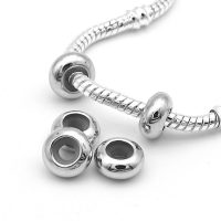 DIY Rubber Pandora Charms Necklace, For Jewelry Making, European Bracelets Stopper, Free Shipping, 10 pieces per lot