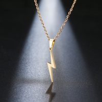 Stainless Steel Necklace for Men and Women, Trendy Pendant, Scar Necklace, Choker, Jewelry Gift